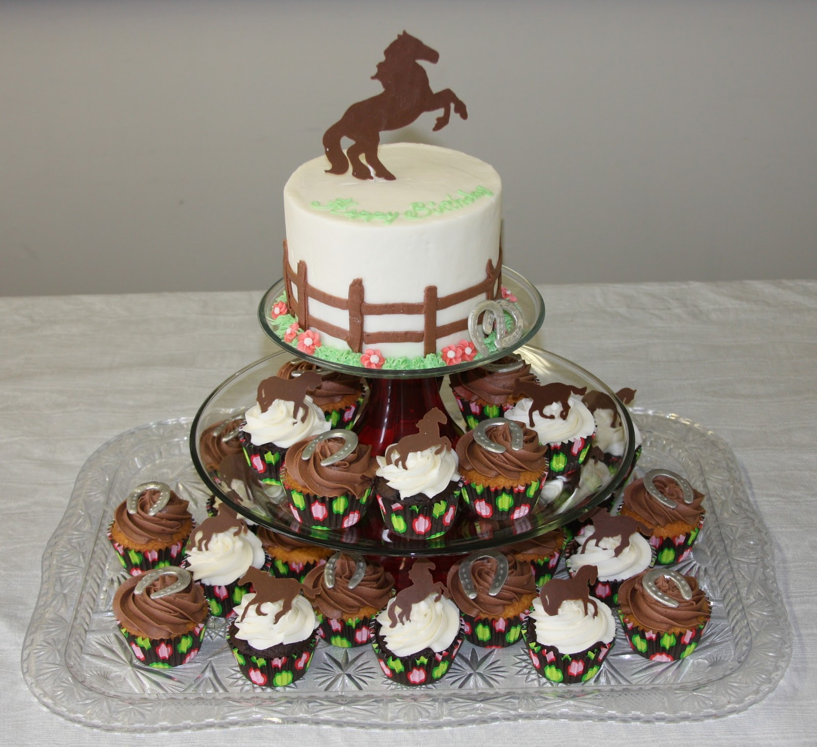 Tammy's Frosted Memories: Horse Lovers Cake