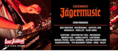 Estas son las bandas y DJs del Escenario Jägermusic en Low Festival, Jupiter Lion, Ocellot, Radiocontrol