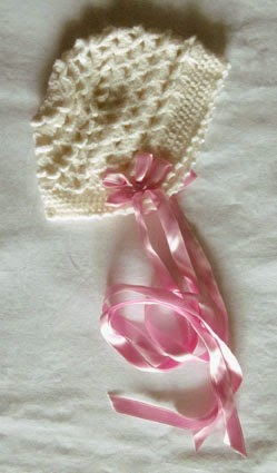Conjunto bebé niña crochet