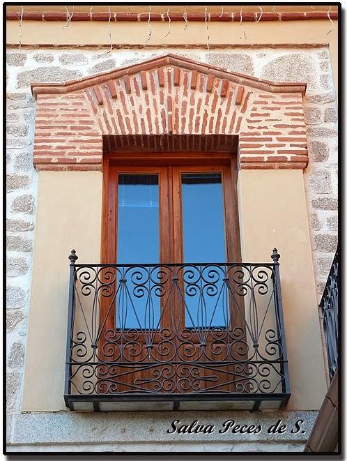 Sonseca en el zurr n y un sencillo inventario de los - Balcones de forja antiguos ...