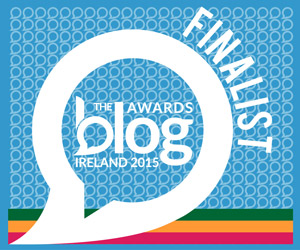Finalist in the Irish Blog Awards 2015