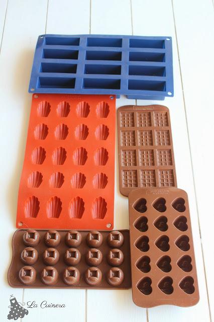 usos de los moldes de silicona
