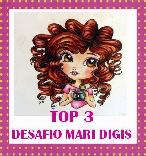 TOP 3 PRIMEIRO DESAFIO MARI DIGIS