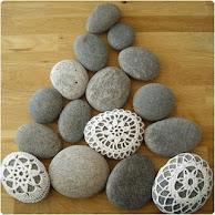 Hæklede sten