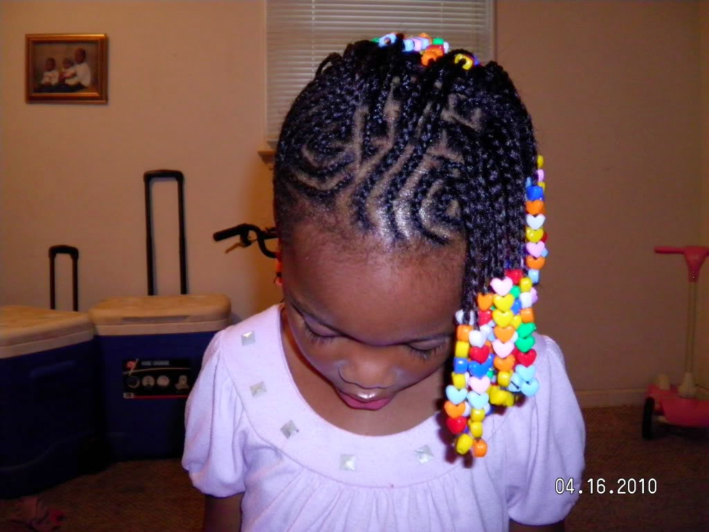 Kids Hairstyles Braids with Beads
