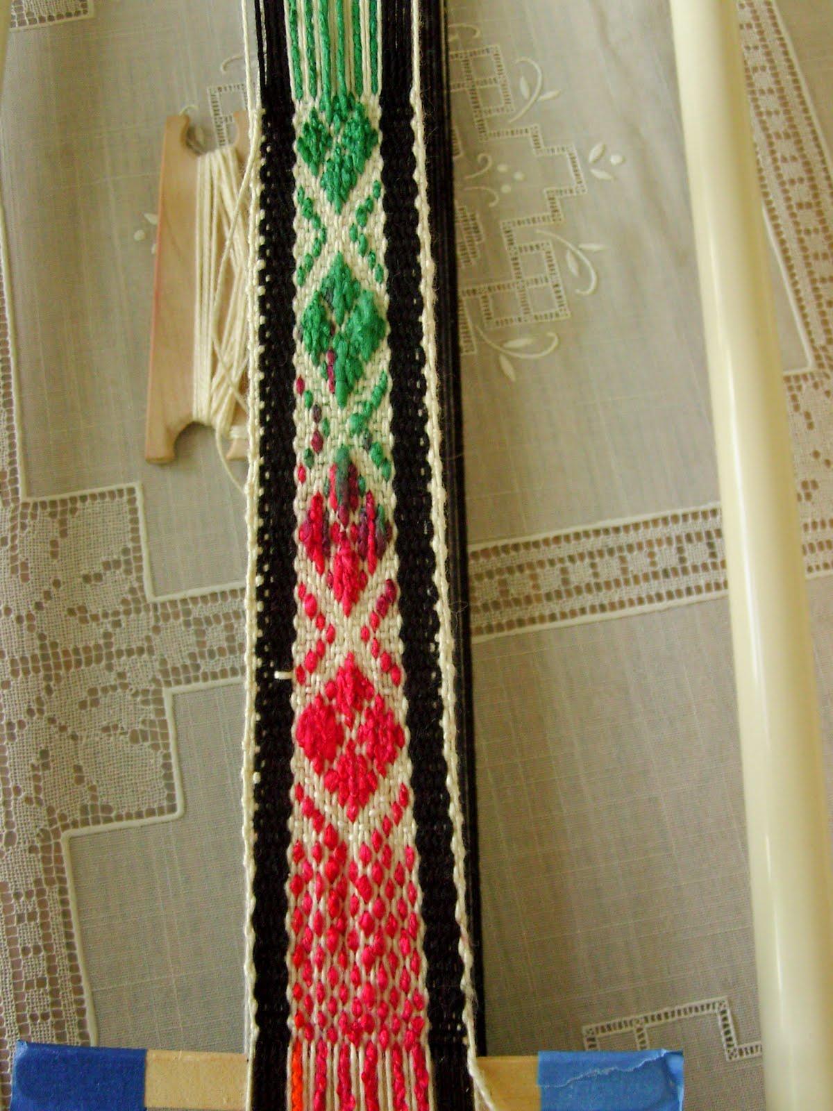 inkle weave pattern