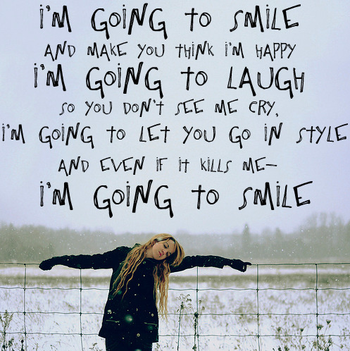 Quotes About Smiling Through Hard Times