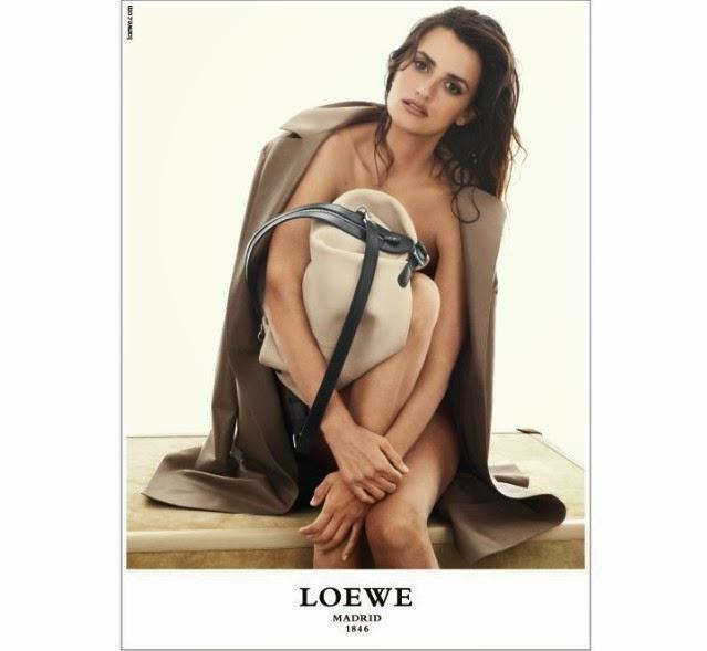 Penélope Cruz desnuda en Loewe