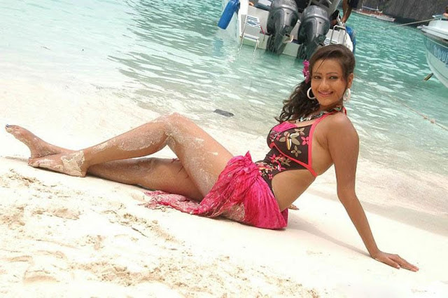 asian madalasa sharma beach bikini actress wallpapers