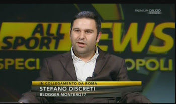 Stefano Discreti a Mediaset Premium