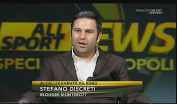Stefano Discreti a Mediaset Premium