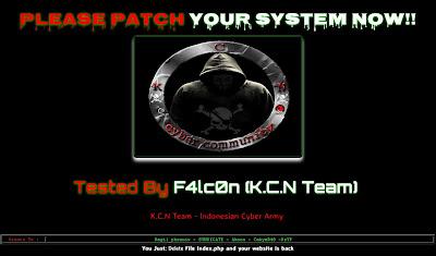 Situs Resmi FPI di Hack