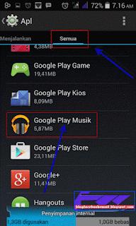 cara menampakkan lagu di google musik android yang tiba-tiba hilang