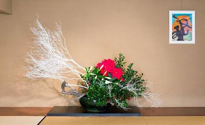 the nordic lotus ikebana blog christmas at sogetsu tokyo. Black Bedroom Furniture Sets. Home Design Ideas