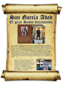 San García Abad, el gran santo desconocido!! Ya a la venta, 10€.