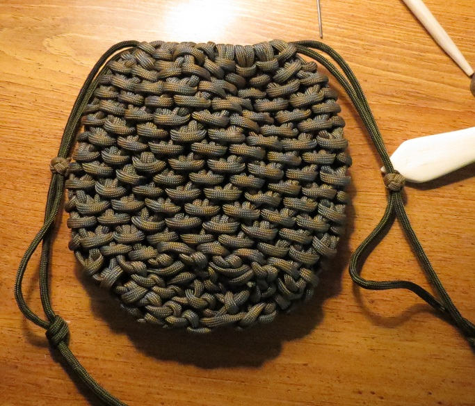 Woodlake bushcraft paracord pouch for Paracord drawstring bag