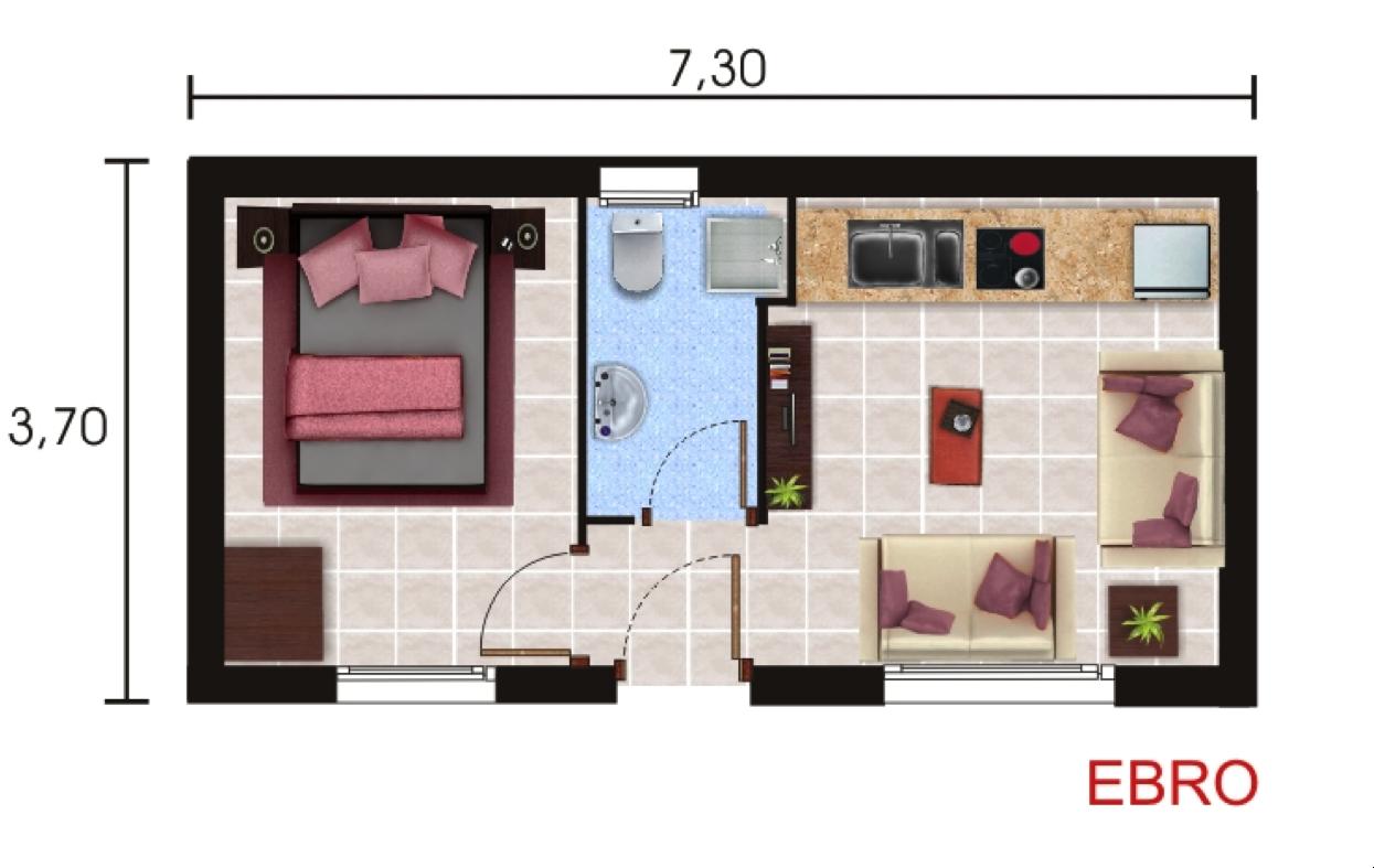 Casas prefabricadas y modulares planos standard for Planos casas prefabricadas