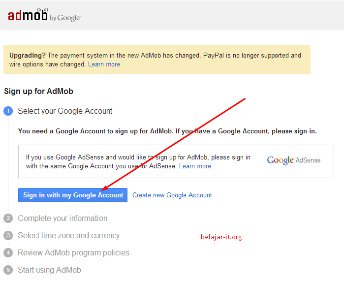 Cara Dapat Uang dari Hp Android dengan Admob