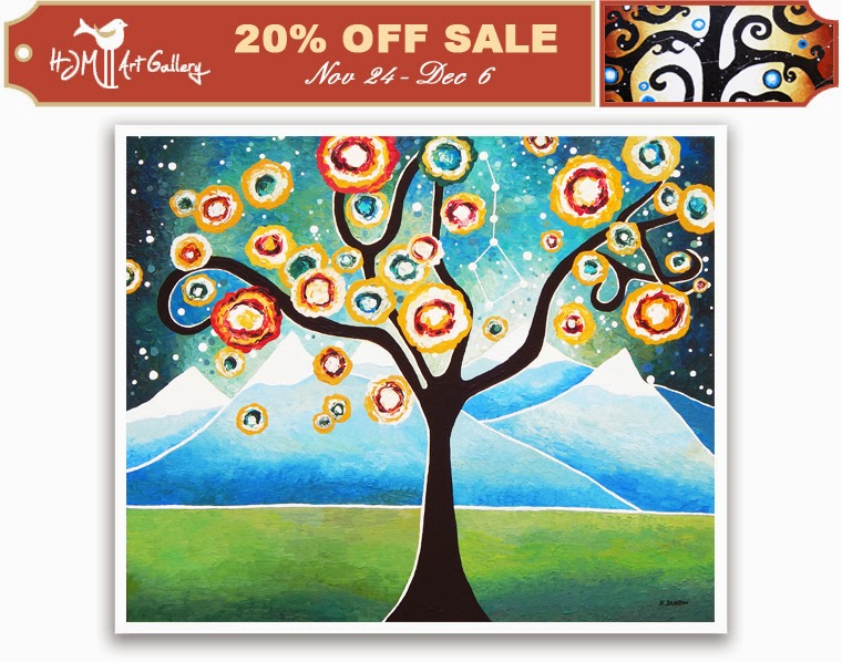 HJM Art Gallery 20% OFF