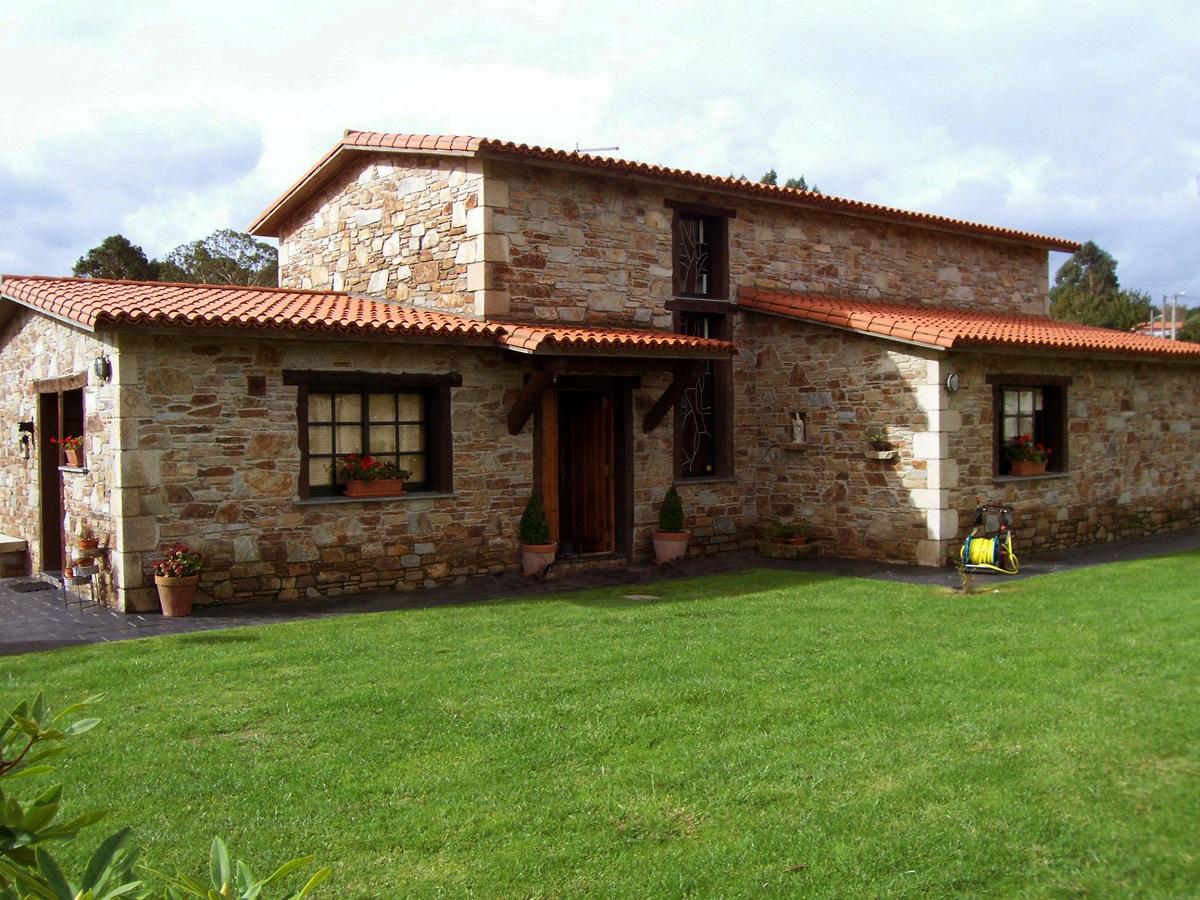 Construcciones r sticas gallegas casa en ares - Diseno casas rusticas ...