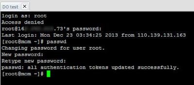 BackUp MySQL Databases, Linux'de(CentOS) Shell(SSH) Üzerinden MySQL İşlemleri