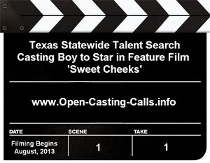 Sweet Cheeks Texas Talent Search Open Casting Calls