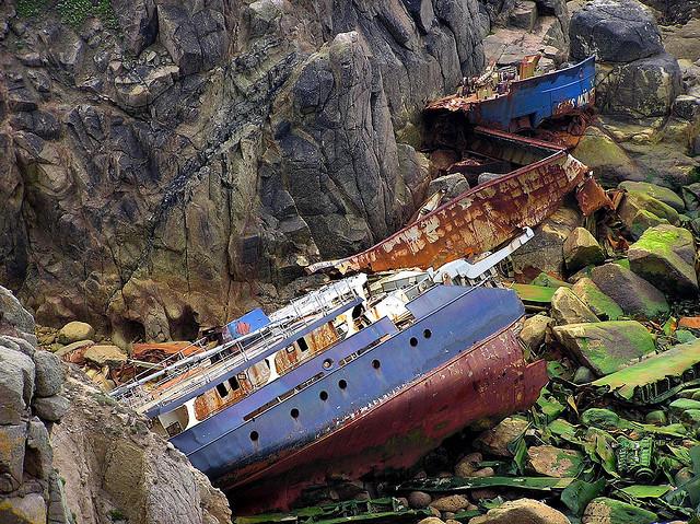Shipwreck Kuriositas