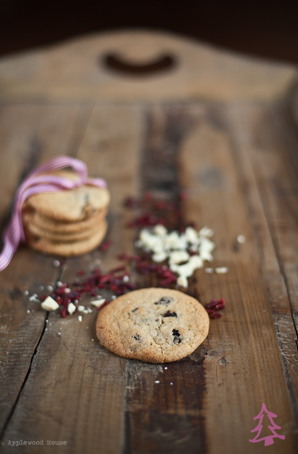 Cranberry Cookies white chocolate applewood house
