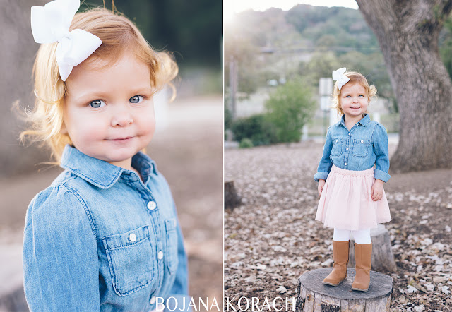 beautiful two year old girl photographed in Alviso Adobe park with her family by bojana korach photography