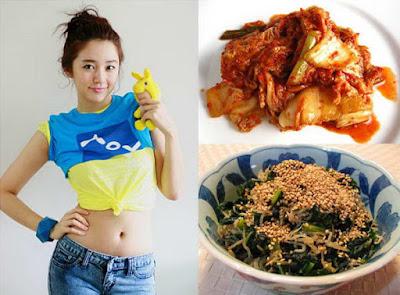 Thực đơn giữ dáng của Yoon Eun Hye