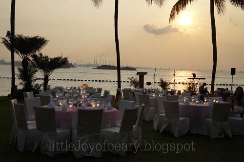 Sunset Wedding At Shangri Las Rasa Sentosa Resort