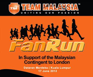TEAM MALAYSIA FAN RUN 2012