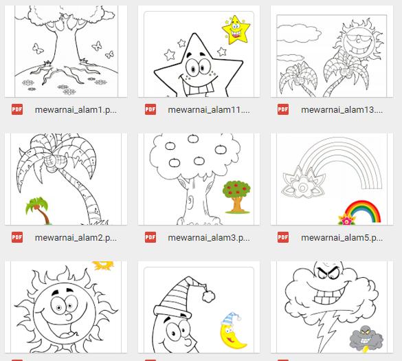 Lembar Kerja Mewarnai Untuk Mengembangkan Keterampilan Motorik Anak File Wikiedukasi