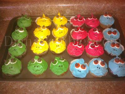 pascal birthday cupcake homemade