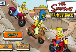 Jugar Simpsons Family Race