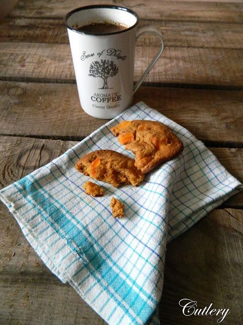 Dulce de Leche & carrot cookies