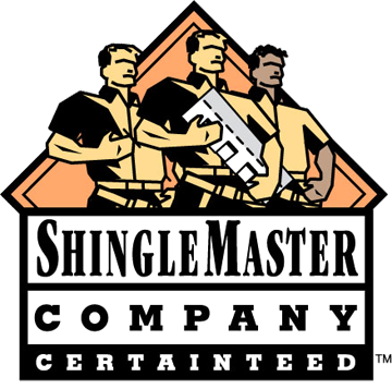 Our installers are Certified Master Shinglers