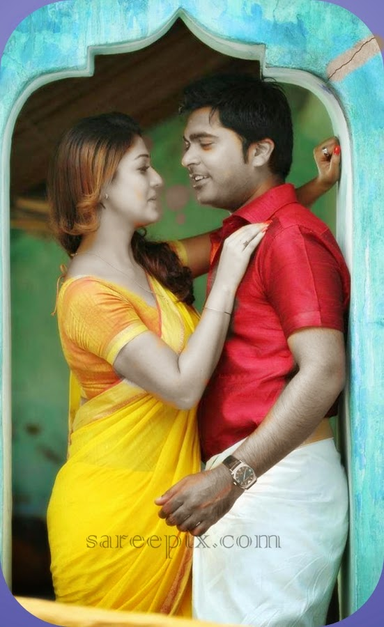 Nayanatara-saree-Idhu-namma-aalu-movie
