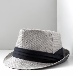 banana+republic+navy+and+white+fedora 40% Off at Banana Republic