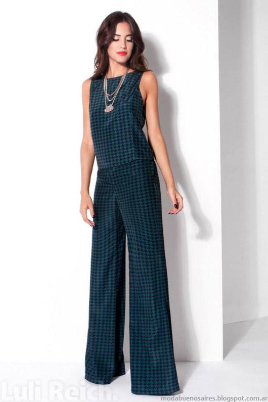 Moda Argentina looks invierno 2014. Luli Reich invierno 2014 ropa de mujer de moda.