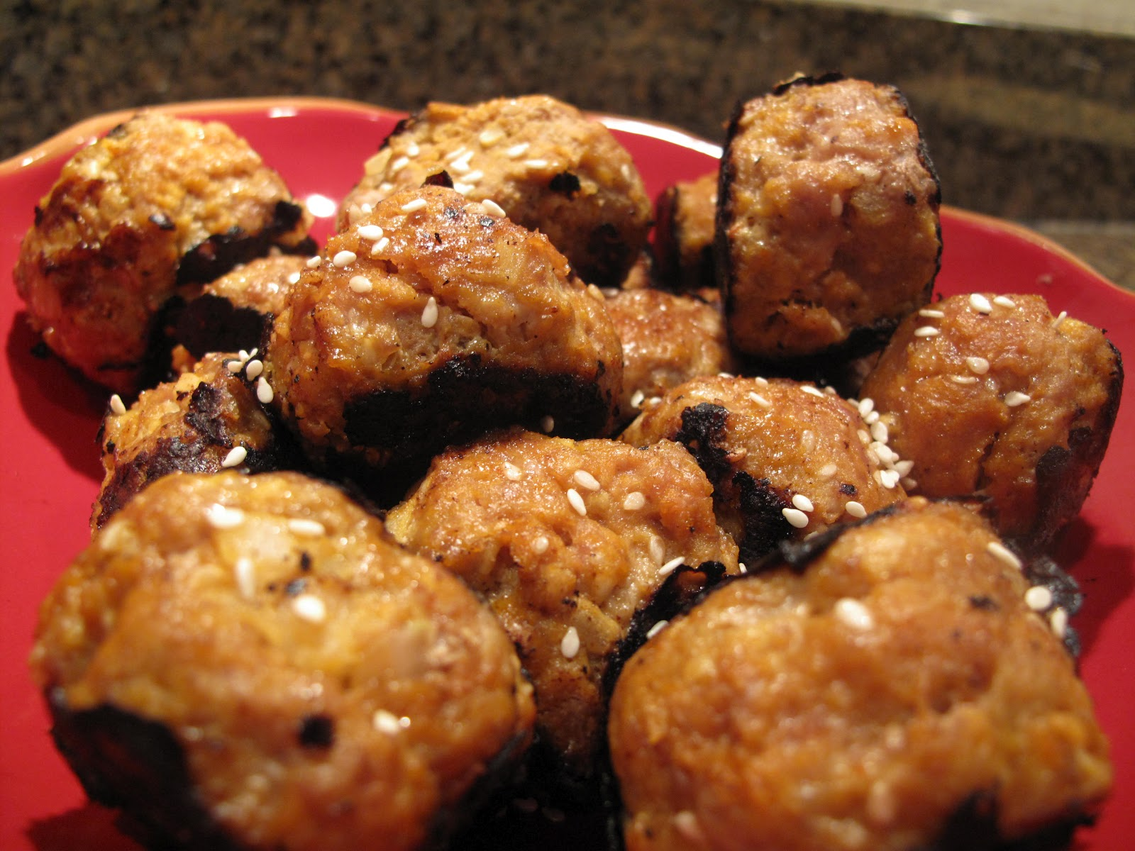 Shut Up, Let's Cook!: Grilled Turkey Meatballs