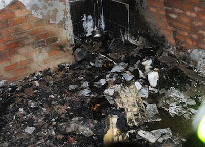 Cháy nhà khi đi ra ngoài ăn hủ tíu mì