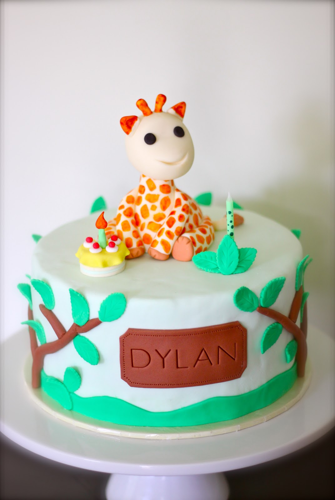 Sweet Art Cakes By Milbre Moments Dylans 1st Birthday Cake