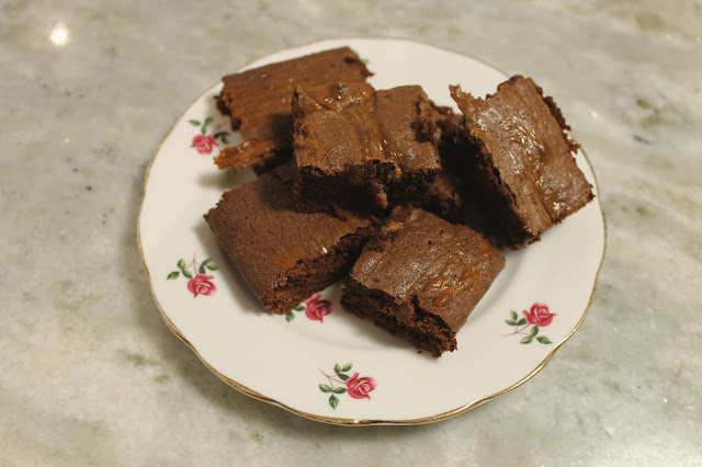 How To Make Salted Caramel Brownies Recipe Good Food Easy Baking