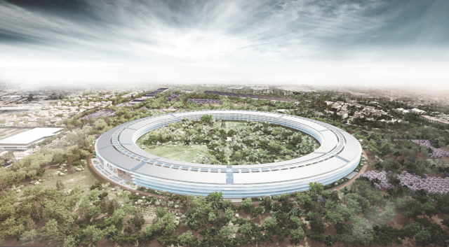 as we noted in june apple is building what is sure to be the coolest office building ever in cuptertino ca the building is so important to the company apples office