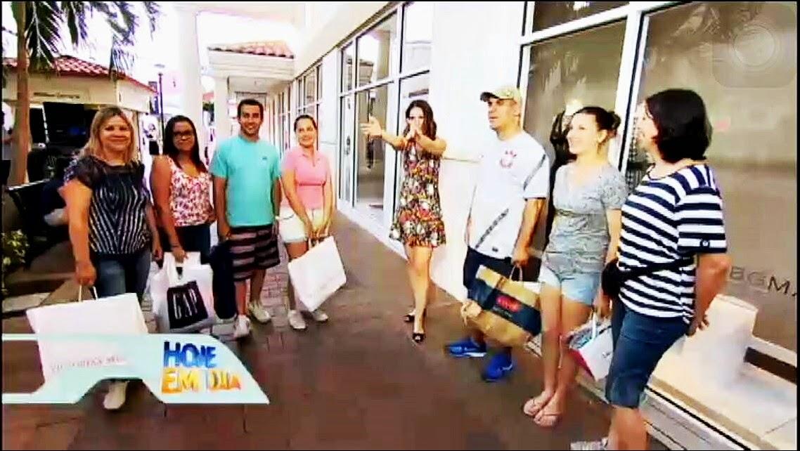 Chris Flores compras em Orlando