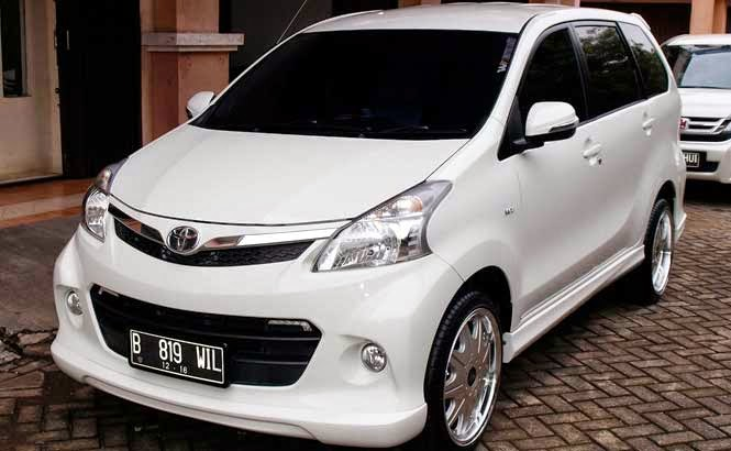 Pasang Body Kit di All New Avanza