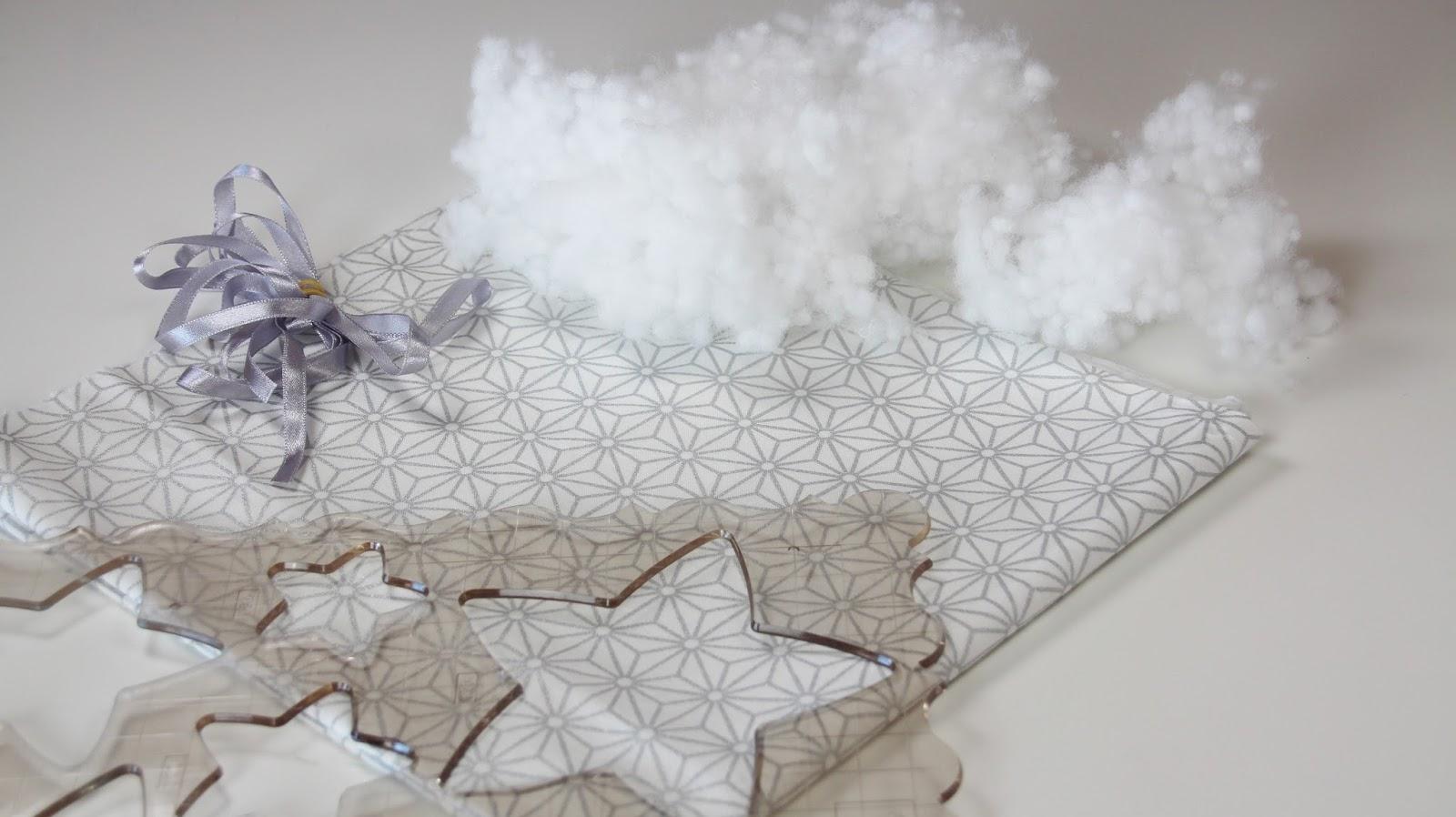 Adornos de Navidad: una guirnalda de estrellas - El blog de Coser ...