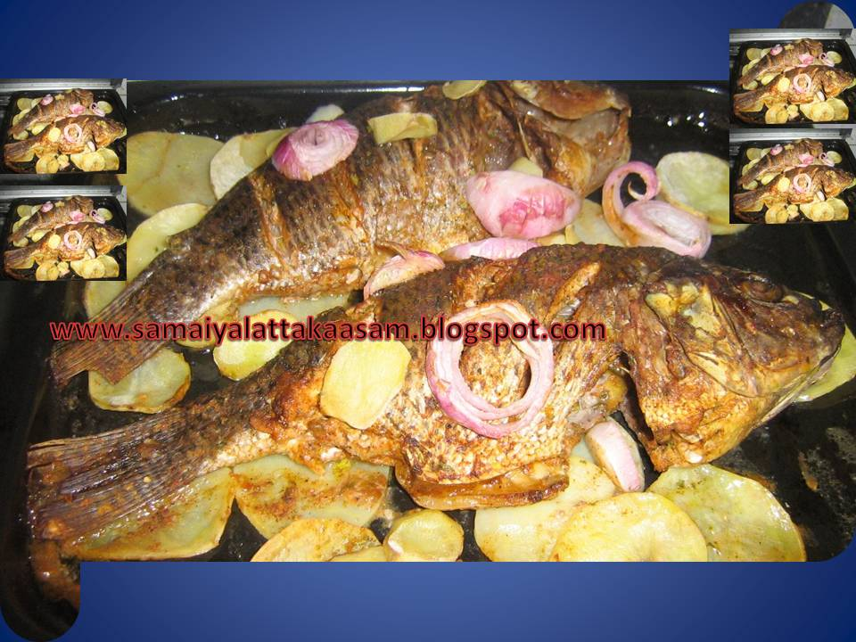 Cook book jaleela baked whole fish for How to cook a whole fish
