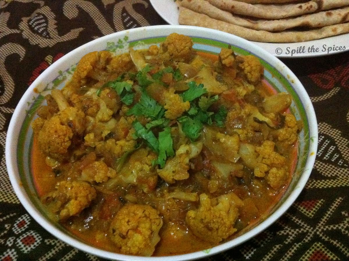 Gobi Masala | Cauliflower Masala | Spill the Spices